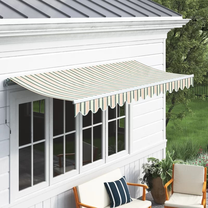 vale retractable patio awning