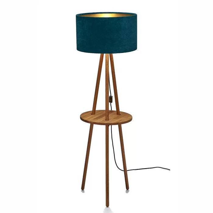 Tripod-Stehlampe NICKY - Ebern Designs