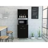 microwave cart black wayfair
