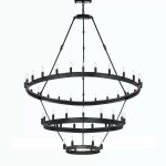 Canora Grey Shotwell 36 Light Unique Statement Wagon Wheel Chandelier With Wrought Iron Accents Wayfair
