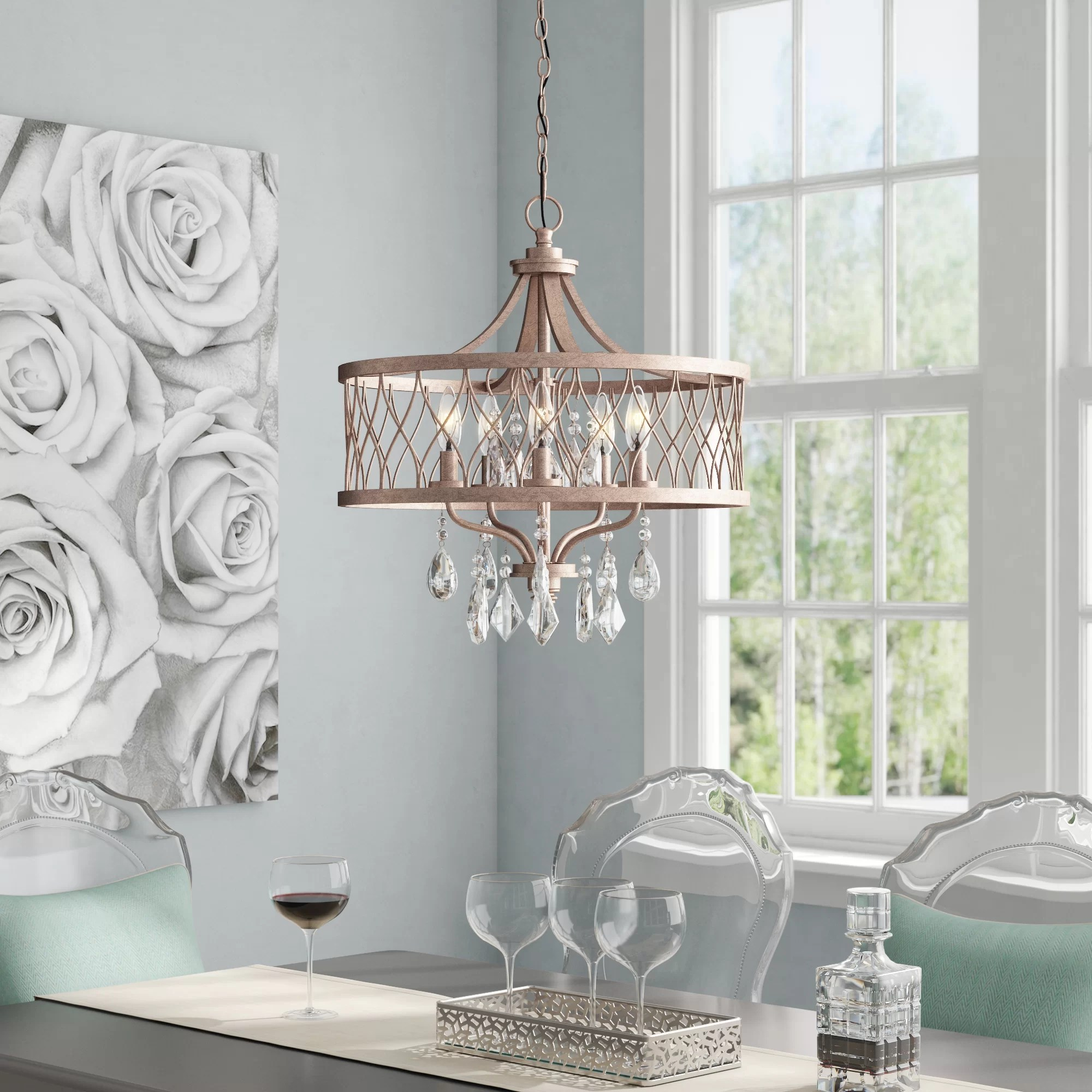 drum dining room light online