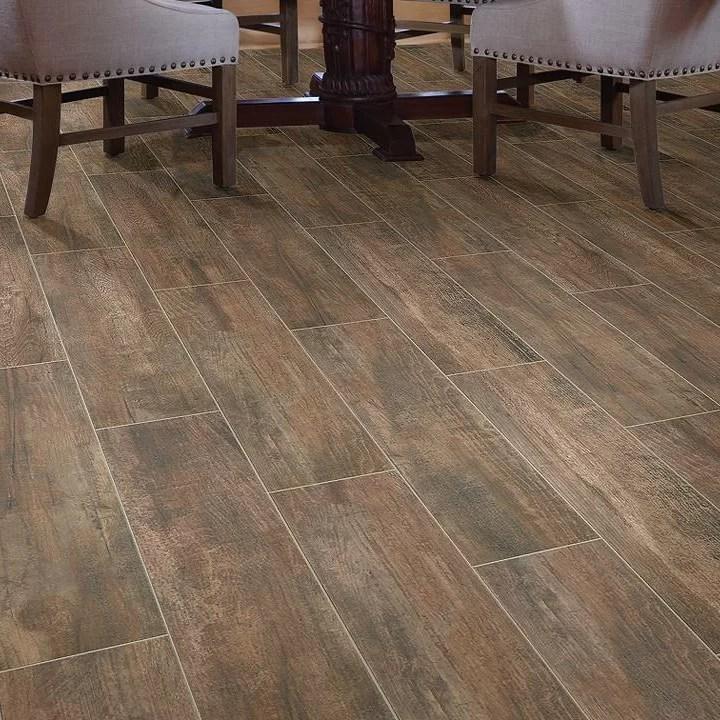celestial 8 x 36 ceramic wood look wall floor tile