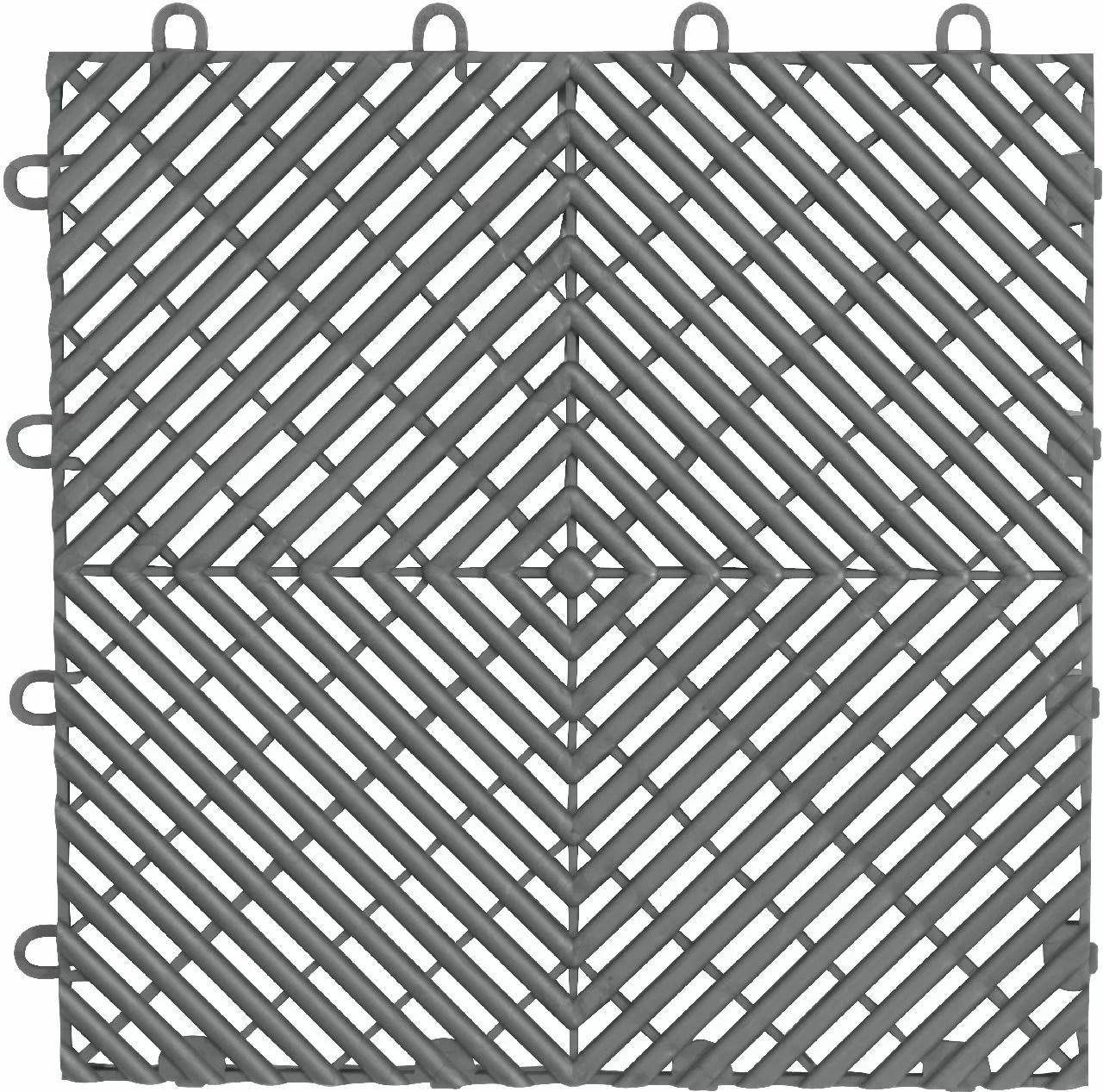 gaft04dtps 4 pack 12 x 12 garage flooring drain tile