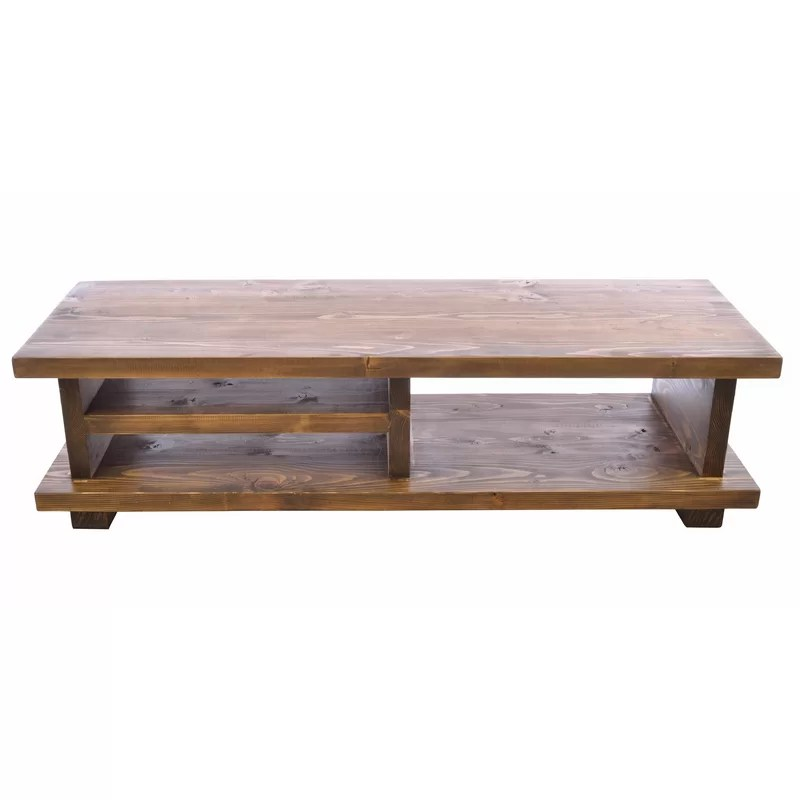 groton solid wood tv stand for tvs up to 50