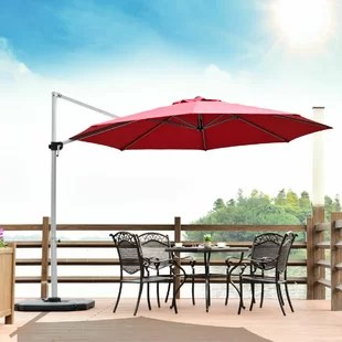 derick 11 cantilever umbrella