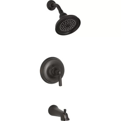 luxury oil rubbed bronze shower faucets