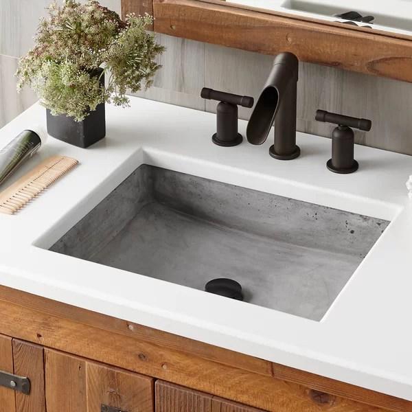 apron front bathroom sink