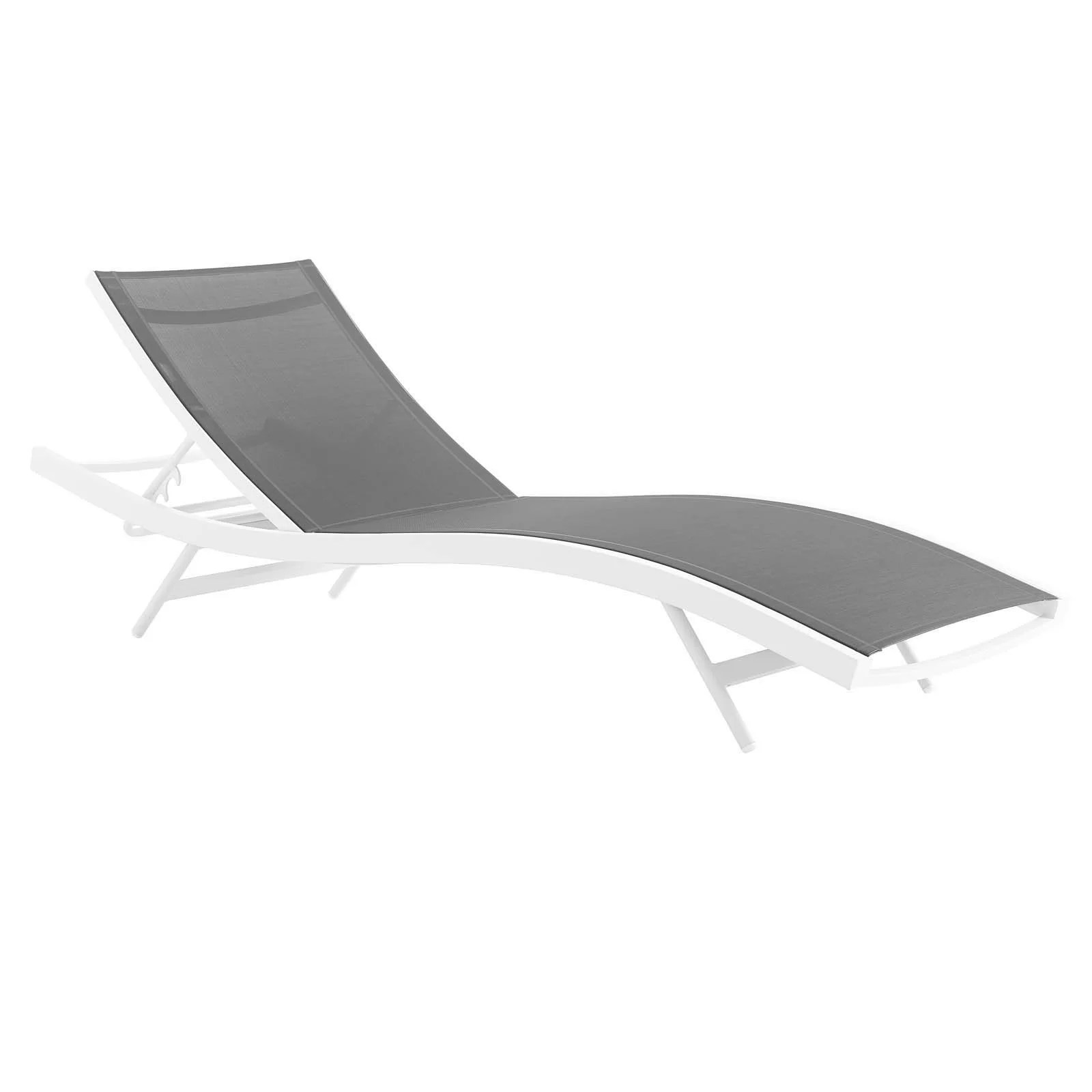madrille 78 long reclining chaise lounge set