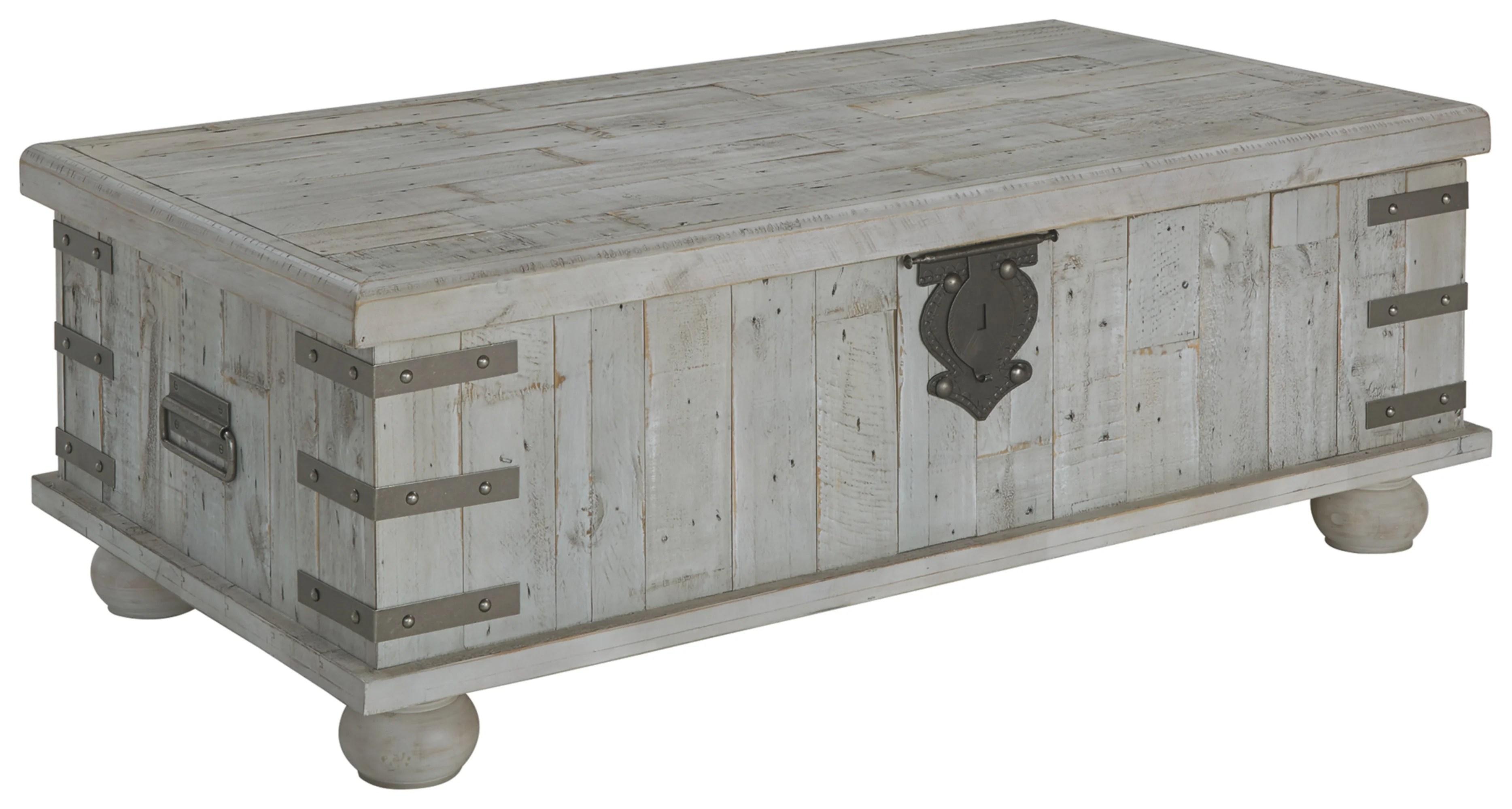 trunk chest coffee table wayfair