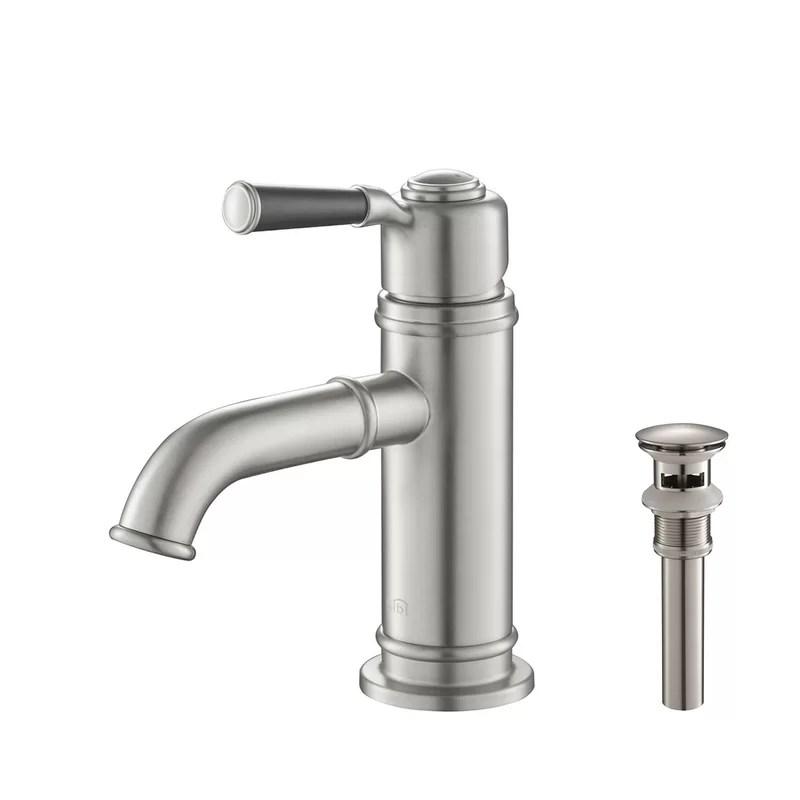 victorian single hole bathroom faucet