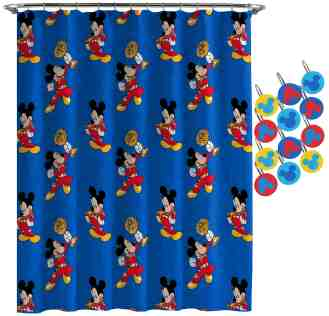 Mickey Mouse Road Race Shower Curtain
