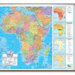 Universal Map Advanced Political Map Africa Wayfair