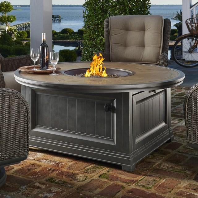 dogwood cf 20 aluminum gas fire pit table