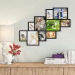 Ebern Designs Barcenas 10 Opening Wood Photo Collage Wall Hanging Picture Frame Reviews