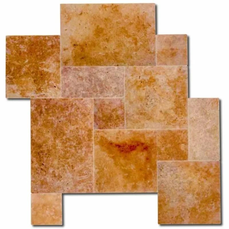 travertine marble look wall floor tile