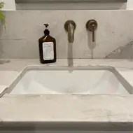 trinsic wall mounted bathroom faucet