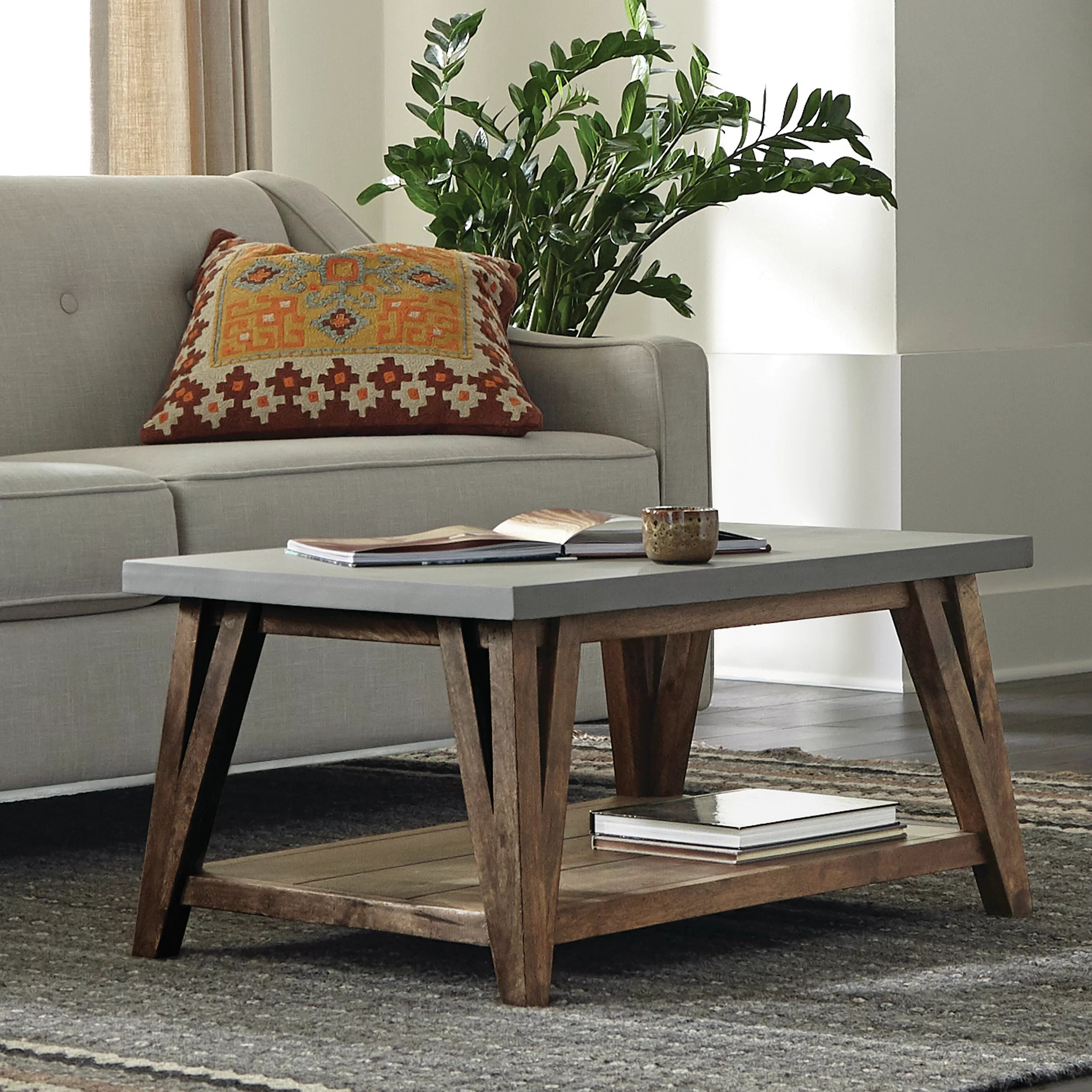 crowell coffee table with storage