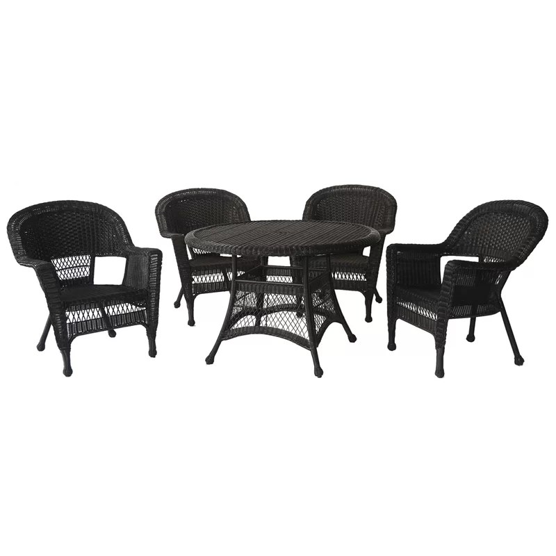 round 4 person 44 5 long dining set