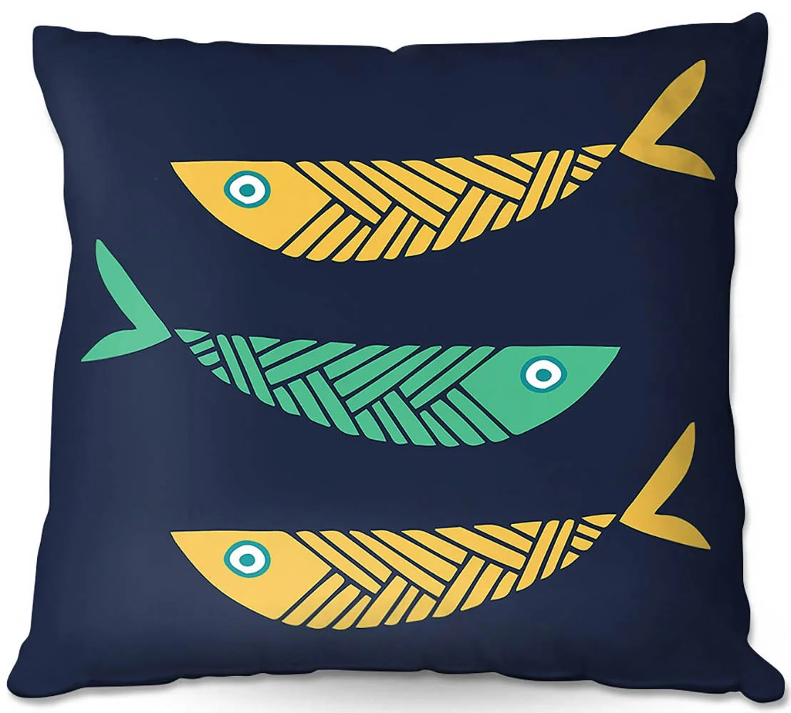 harger couch fish nursery throw pillow