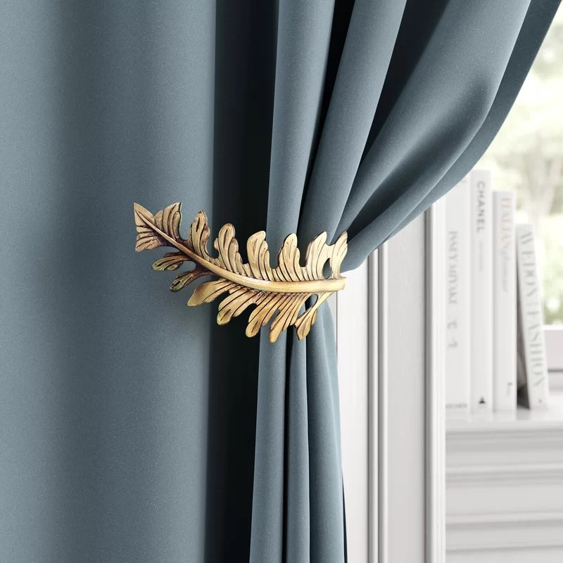 dionne leaf curtain holdback