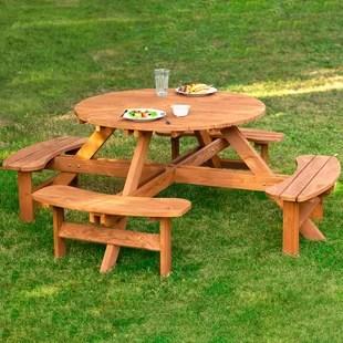 cedar picnic patio tables you ll love