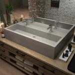 Hydeconcrete Farmhouse Rectangular Trough Bathroom Sink Wayfair