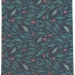 Rosalind Wheeler Yves Floral Charcoal Teal Pink Area Rug Wayfair