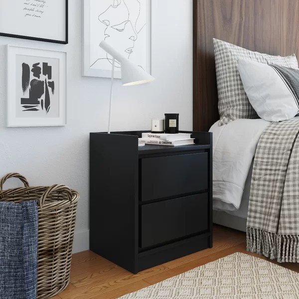 low profile night stands