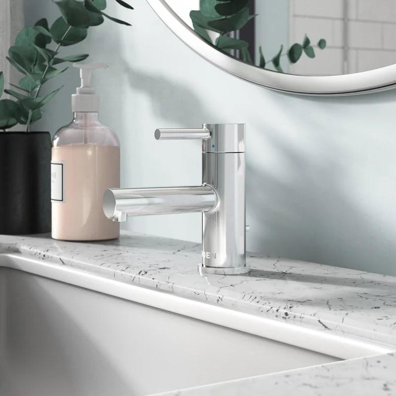 align single hole bathroom faucet