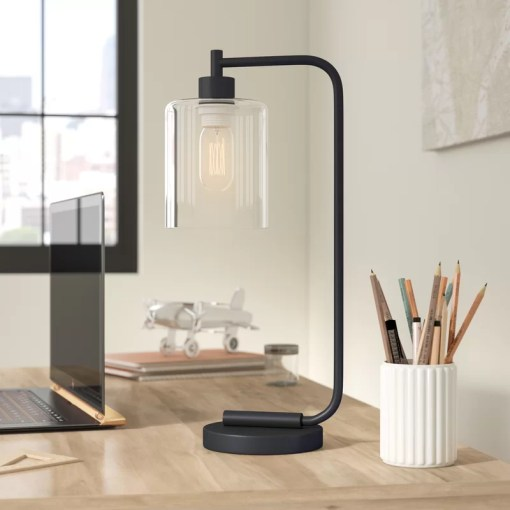 Trent Austin Design Keystone Lantern 16  Desk Lamp   Reviews   Wayfair Keystone Lantern 16  Desk Lamp