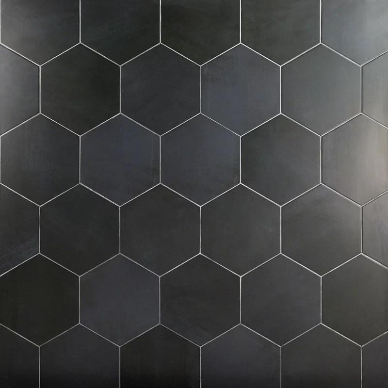 langston 10 x 11 porcelain concrete look wall floor tile