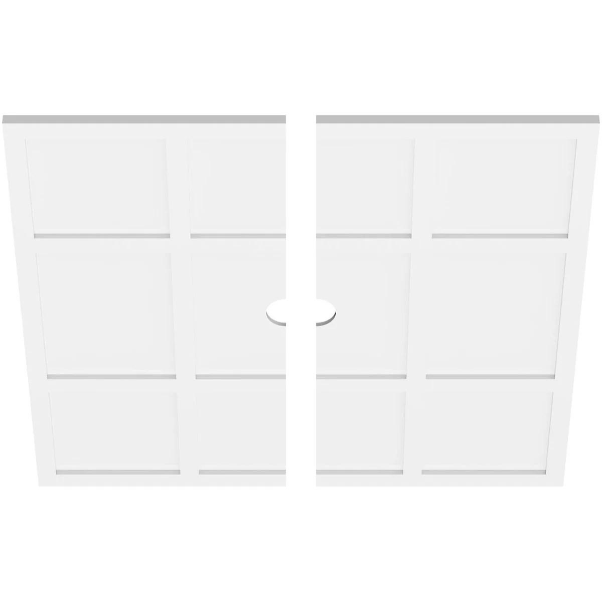 Ekena Millwork Rubik Architectural Grade Pvc Ceiling