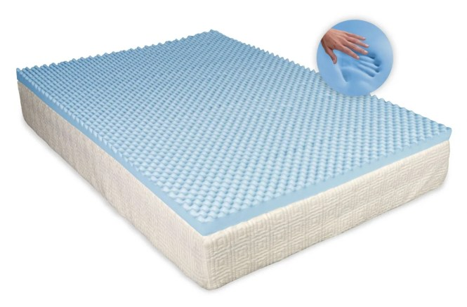 Egg 3 5cm Memory Foam Mattress Topper Without Cover