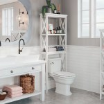 Rustic Over D D Toilet Bathroom Cabinets Shelving You Ll Love In 2020 Wayfair