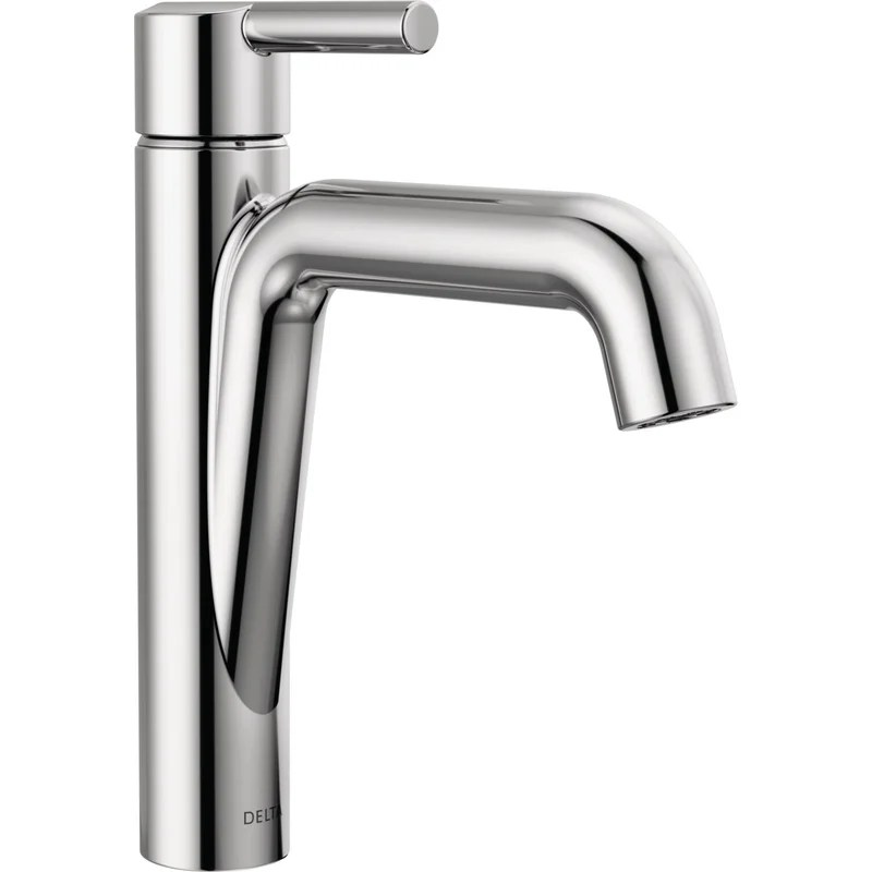 nicoli single hole bathroom faucet with drain assembly