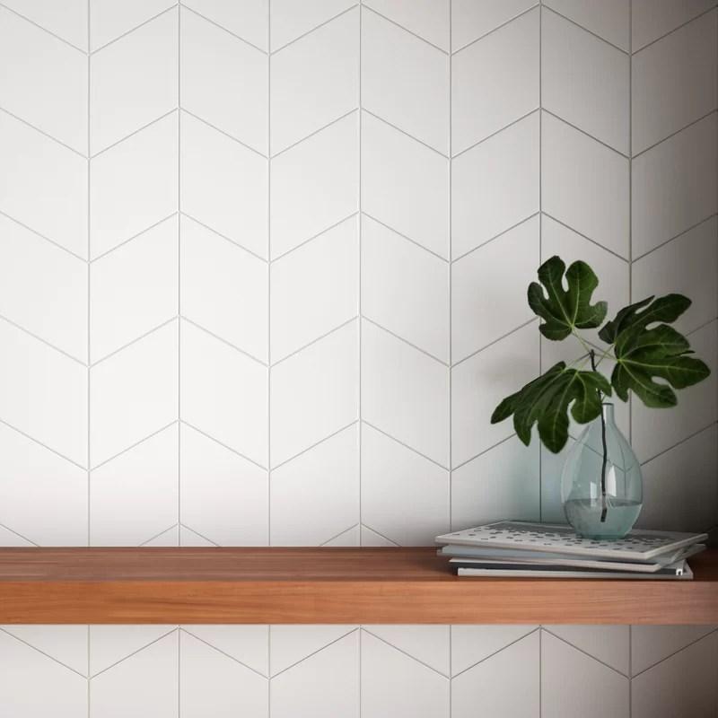 annika 6 x 10 porcelain field tile