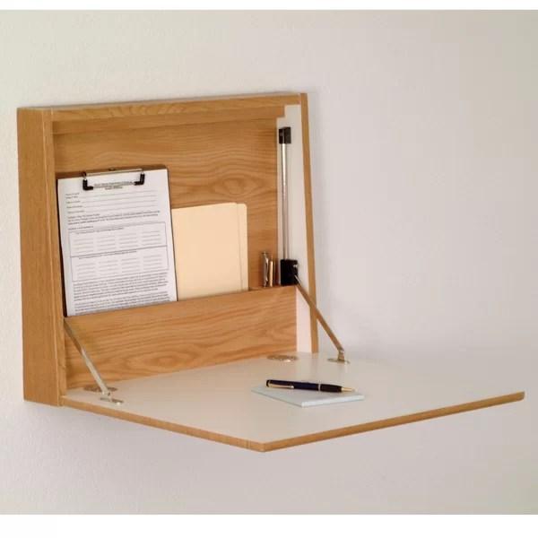 Wall Mounted Fold Down Desk Wayfair