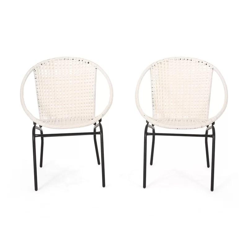 desdemona outdoor modern patio chair