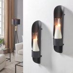 Black Sconce Candle Holders You Ll Love In 2020 Wayfair