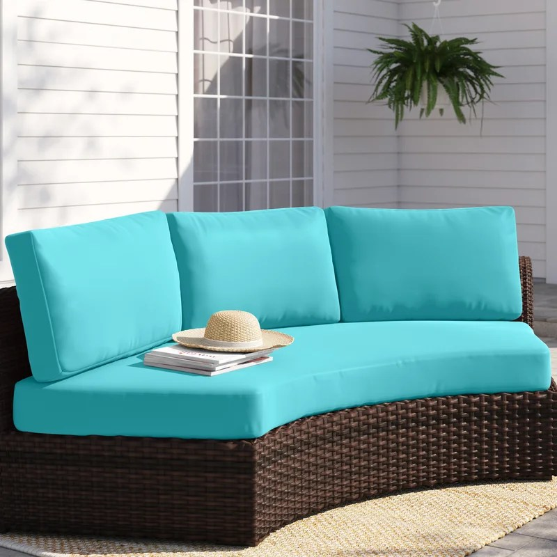 8 piece outdoor seat back cushion