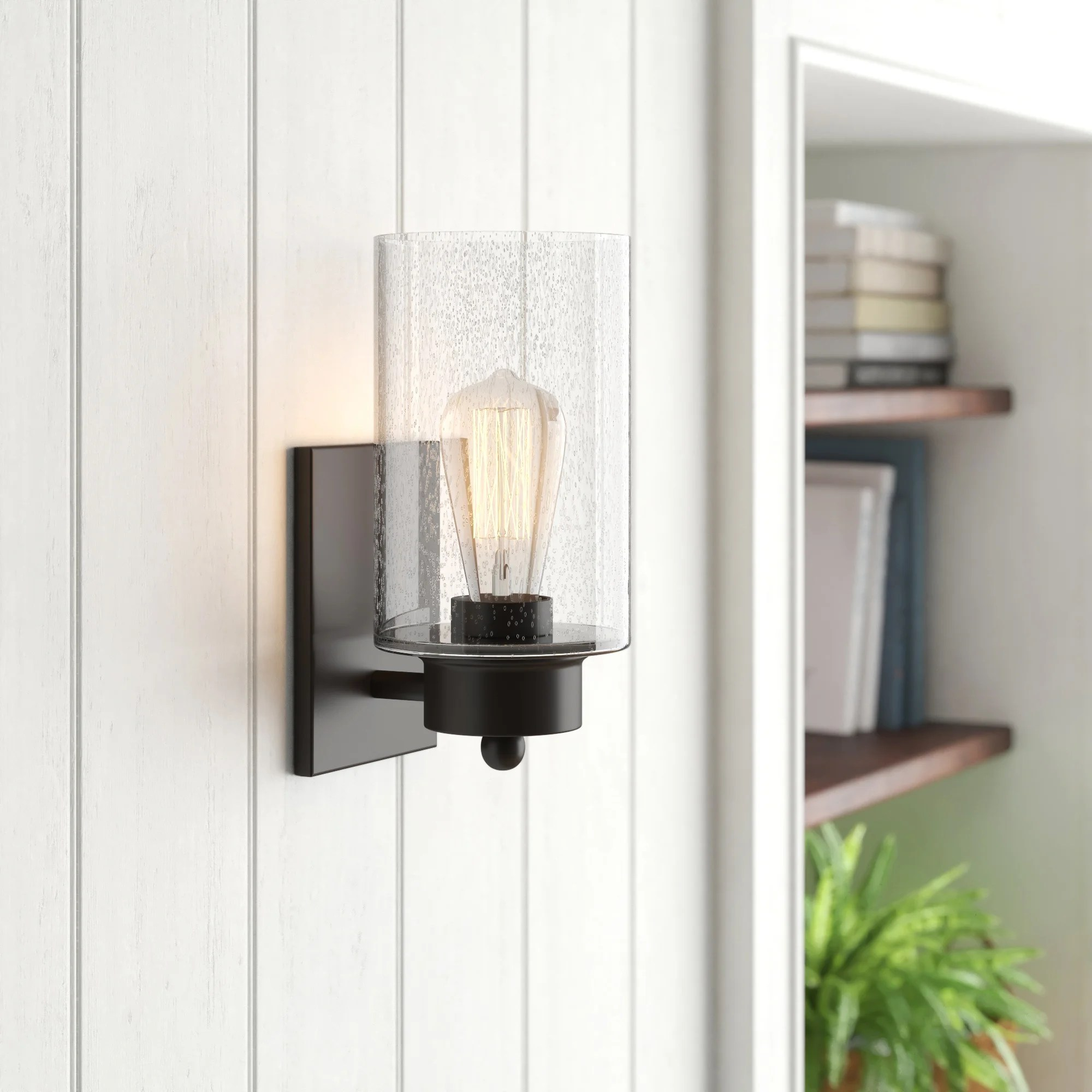 angie 1 light dimmable flush mount