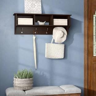 hayman entryway wall mounted coat rack