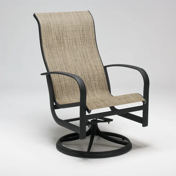 sling back chairs outdoor