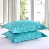 aqua pillow shams wayfair