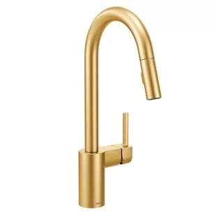 modern gold kitchen faucets allmodern