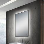Ivy Bronx Martz Modern Lighted Bathroom Mirror Wayfair