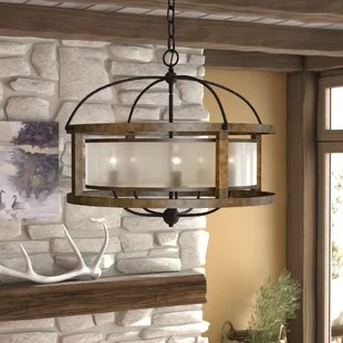 Rustic Chandeliers You ll Love   Wayfair Bundoran 5 Light Chandelier