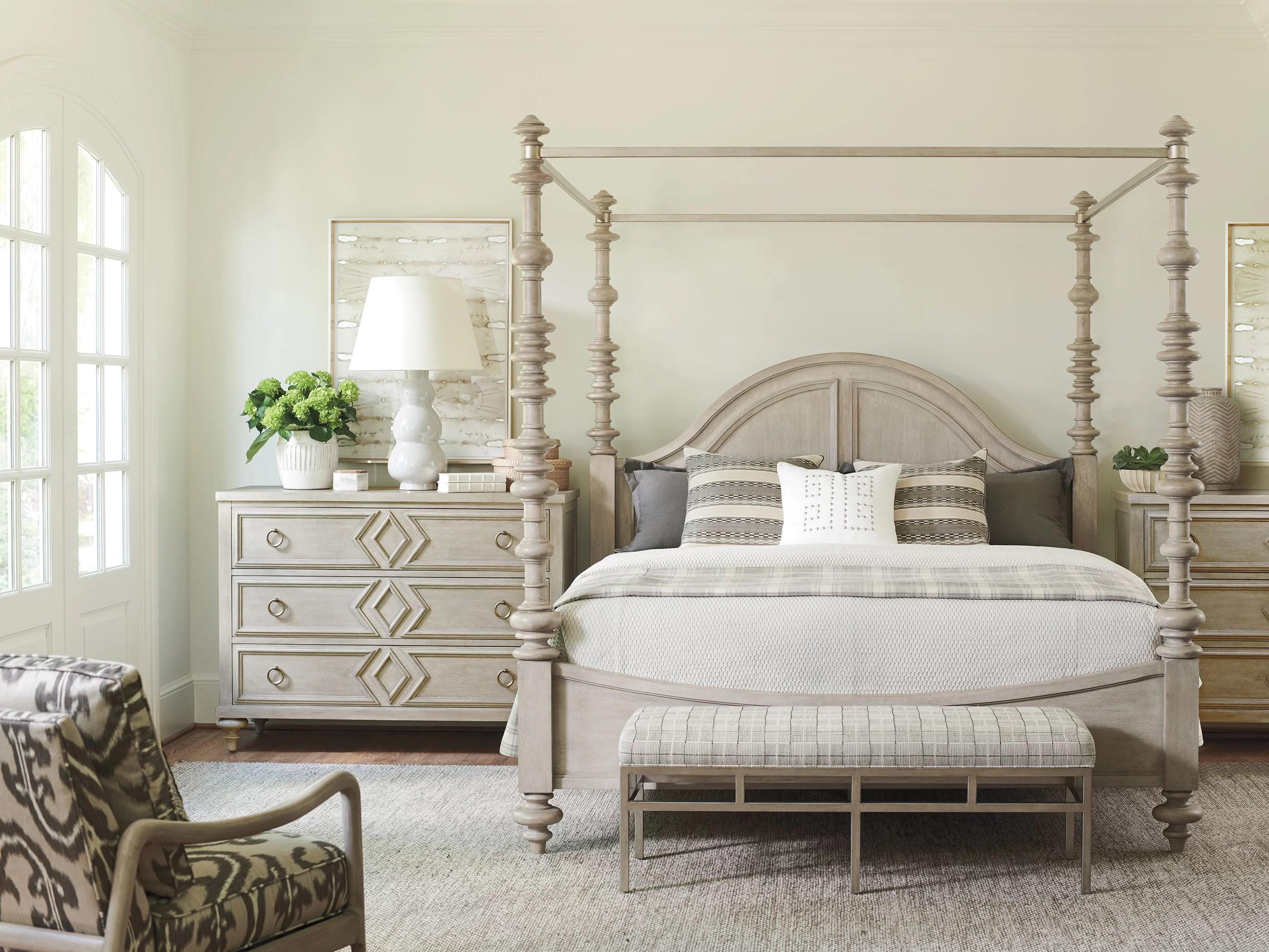 malibu canopy configurable bedroom set