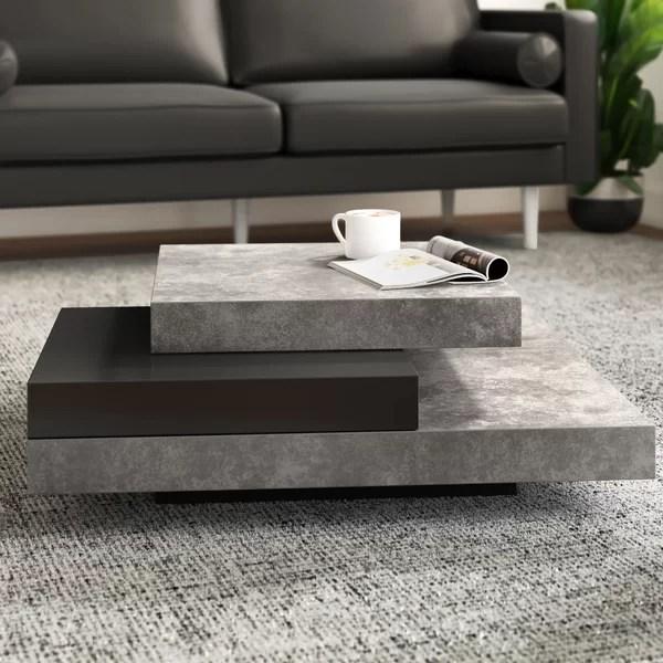 Modern Contemporary Modern Low Coffee Tables Allmodern