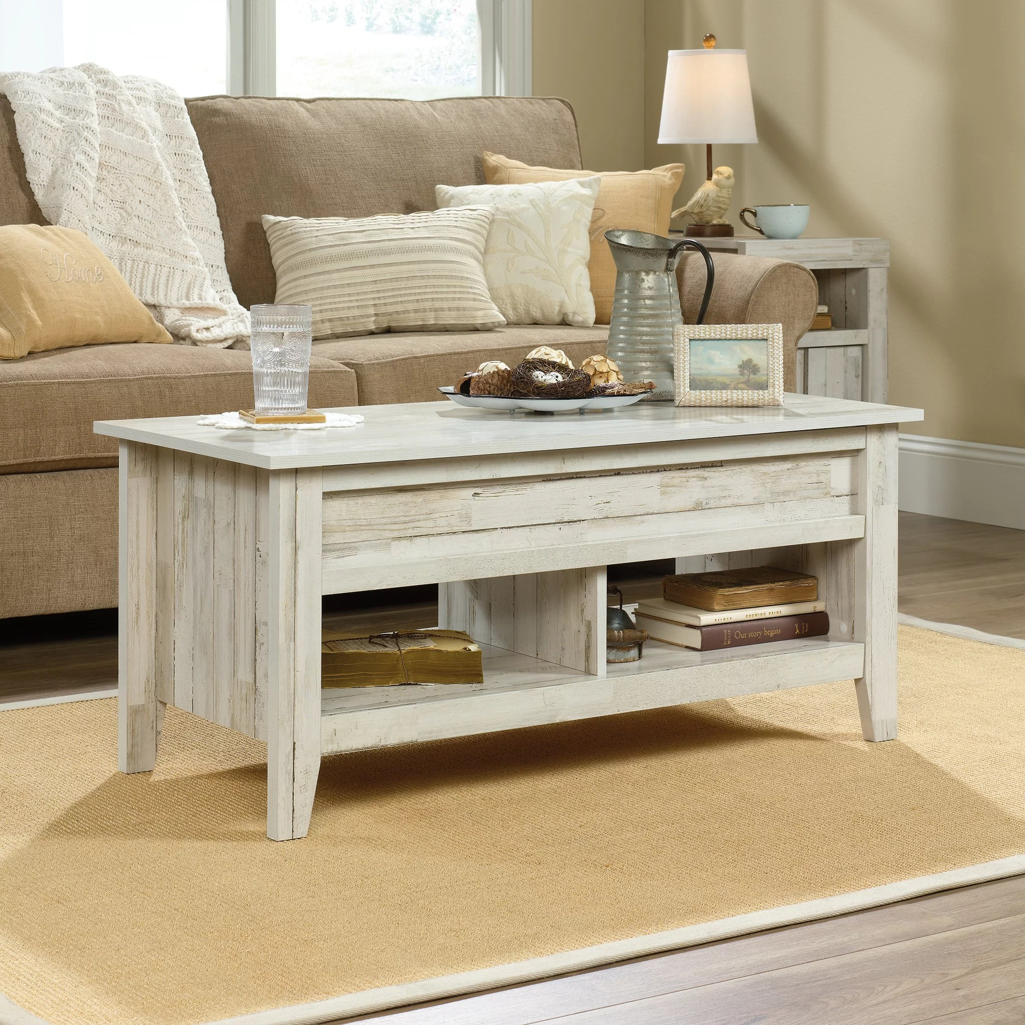 lift top white coffee tables you ll